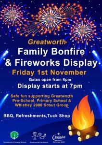 Fireworks 2019-11-01 Greatworth