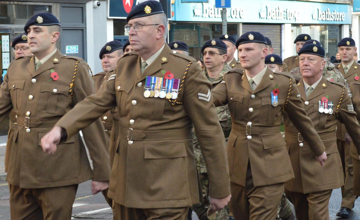 Remembrance Sunday 2019 parade