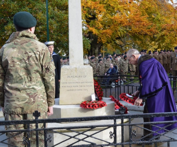 Remembrance Sunday 2019 wreath laying