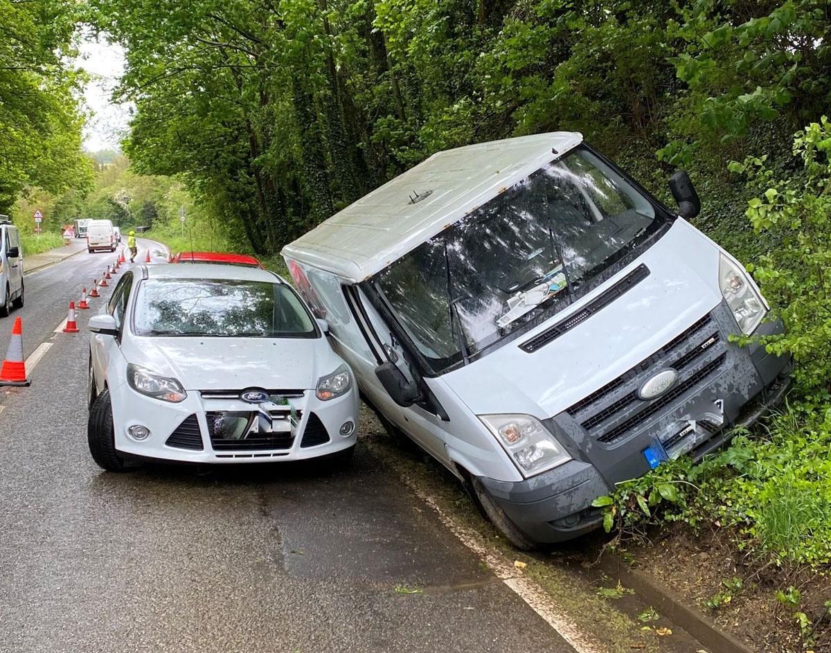 Bloxham Road Friday morning crash